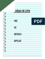 Códigos de Linha