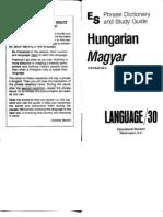 Magyar (Hungarian) Language