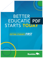 Better Education Starts Today Putting Students First
