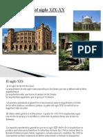 Arquitectura del siglo XIX-XX