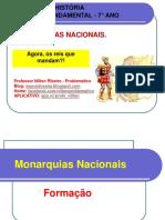 7° ANO MONARQUIAS NACIONAIS