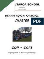 Koputaroa School Charter