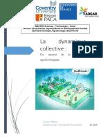 Linares T 2016 La dynamique collective, moteur de la transition agroécologique