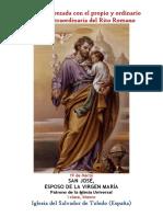 19 de Marzo San José Propio y Ordinario