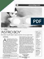 Astro Boy (movie review)