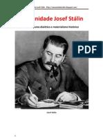 Materialismo dialético e materialismo histórico