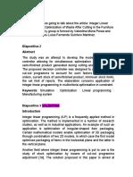 Integer Linear Programming in Optimization of Waste FINAL (1)