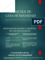 Crimenes de Lesa Humanidad - Clase (1)