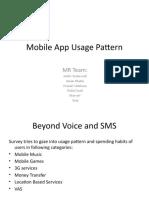Mobile App Usage Pattern -PPT