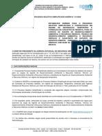 EDITAL DE PROCESSO SELETIVO SIMPLIFICADO AGERH N.° 01-2020