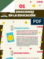 LAS EMOCIONES EN EDUCACIÓN