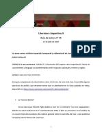 Guía nº 13. Juan José Saer