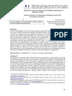 Contabilidade 4.0 Análise Dos Avanços Dos Sistemas de Tecnológica Da Informação No Ambiente Contábil.