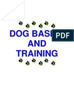 Dog Basics and Training
