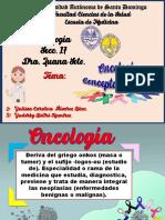 GLOSARIO DE ONCOLOGÍA - EXPOSICIÓN