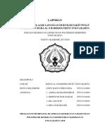 LAPORAN PBL KESLING RSPAU Dr.HARJOLUKITO 2018