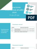 Charla Informativas D151 y D152 2020