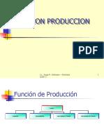 FUNCION PRODUCCIOm