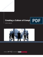 Creating a Culture of Compliance Summary