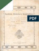 Revista Do Ihgrn - 1907 Volume v - Nº 01 e Nº 02