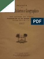 Revista Do Ihgrn - 1917