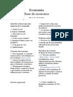Resumo fundamentos da economia