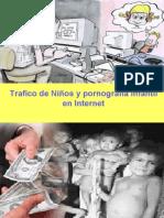 trafico de niños y pornografia infantil