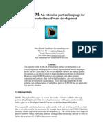 SCRUM - An extension pattern language for hyperproducttive Software Development