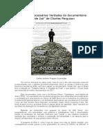 As duras Verdades do documentário Inside Job, de Charles Ferguson