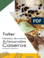 Recetarios Helados Artesanales