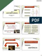 Generalidades de Anatomia Humana