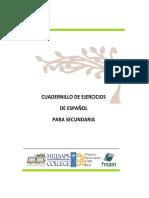 CUADERNILLO_SECUNDARIA_EspañOL