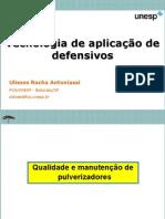 Tecnologia de Aplicação de Defensivos - UNESP