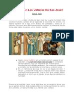 ¿Cuáles Son Las Virtudes de San José-2