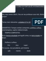 Lousa Intermediário 3 - 202012
