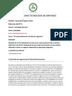 Evaluación Emprendimiento 30 de ENERO 2021