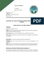 CUESTIONARIO ORATORIA FORENSE.