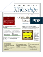 Relationships 1 Eph 4 Handout 030611