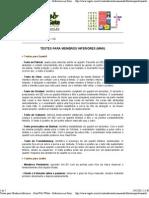 Testes para Membros Inferiores - FisioWeb WGate - Referência em Fisioterapia na Internet