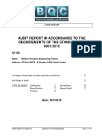 S1194-Audit Report-Modern Precision Engineering Factory