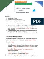 première page html