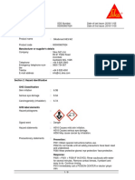 Sika Grout HES - MSDS