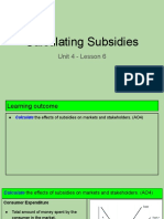 unit 4 - lesson 6 - calculating subsidies