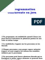 1. Cours Programmation concurrente en java