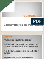 CURSUL 12 Contaminanti Pesticide