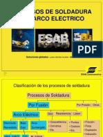 soldadura ESAB procesos