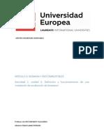 Definición y funcionamiento de una  instalación de producción de bioetanol