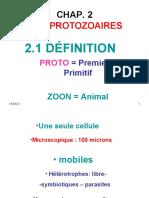 2-Cours Protozoaires 1