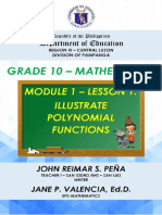 MATH10_Q2_MODULE1_LESSON1_ILLUSTRATE POLYNOMIAL FUNCTIONS