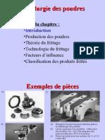 La metallurgie de poudre